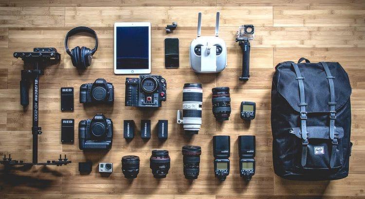 Kamera im Rucksack
