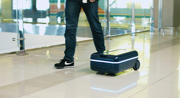 Travel Robotics Koffer Roboter